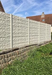 cloture beton prix